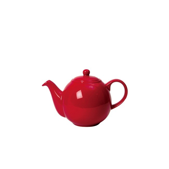 Buy London Pottery Company Globe 6 Cup Red Teapot online at smithsofloughton.com