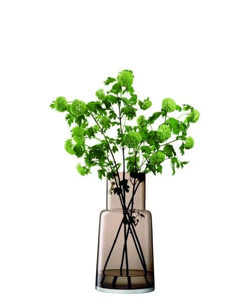 Buy the LSA Vase Chimney Mocha 53cm online at smithsofloughton.com