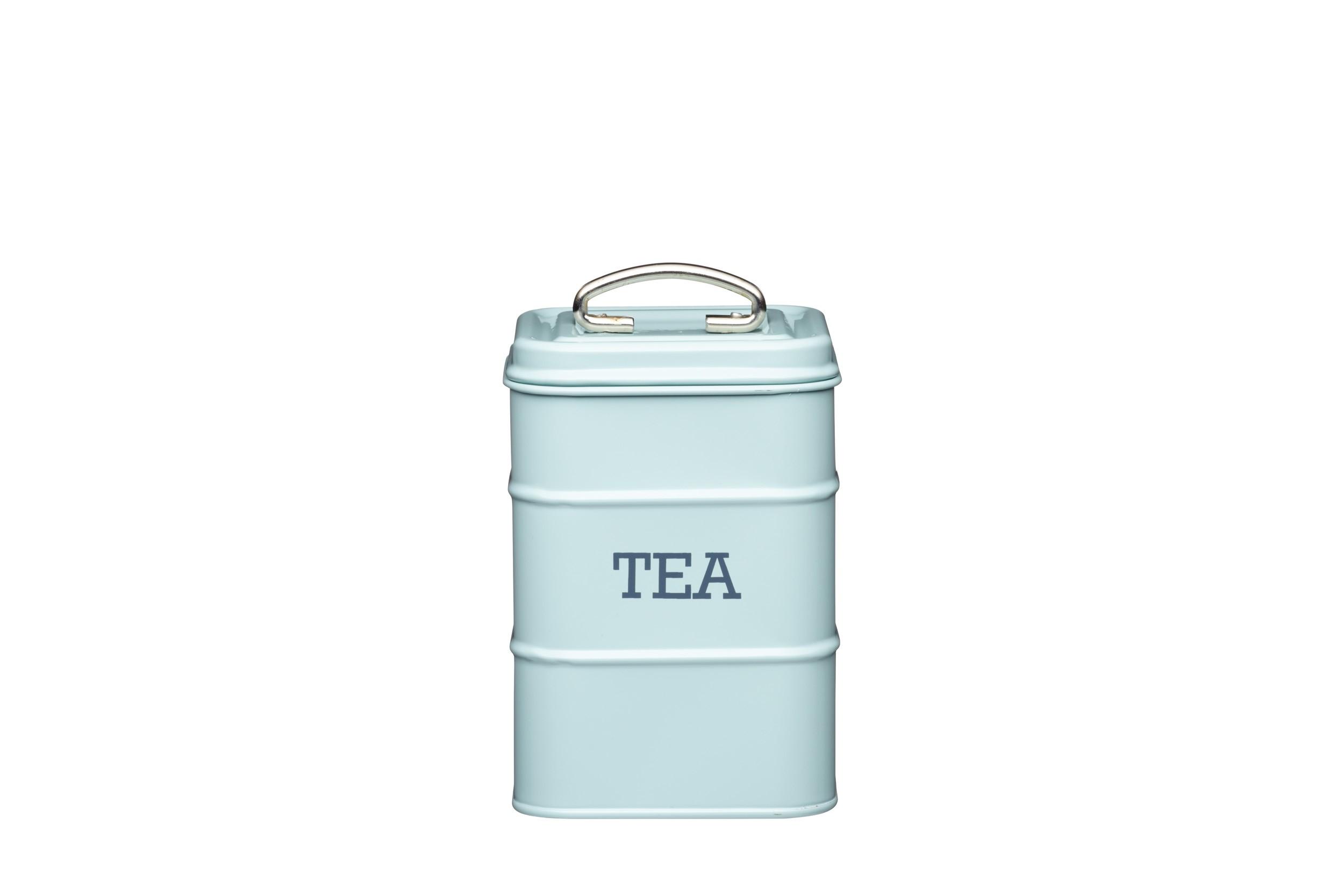 Kitchen Craft Living Nostalgia Tea Canister Blue 11 X 17cm