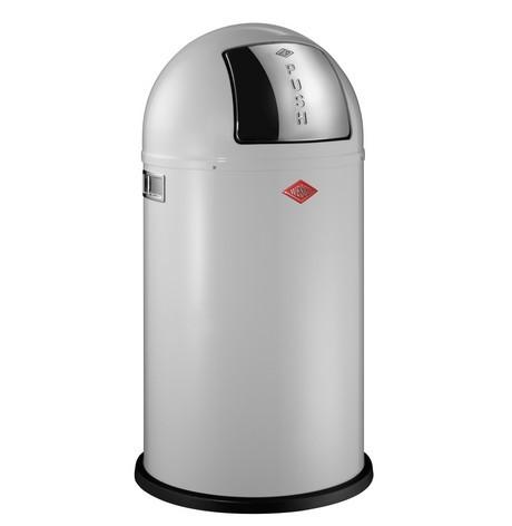 Buy Wesco Pushboy 50L White Bin online at smithsofloughton.com