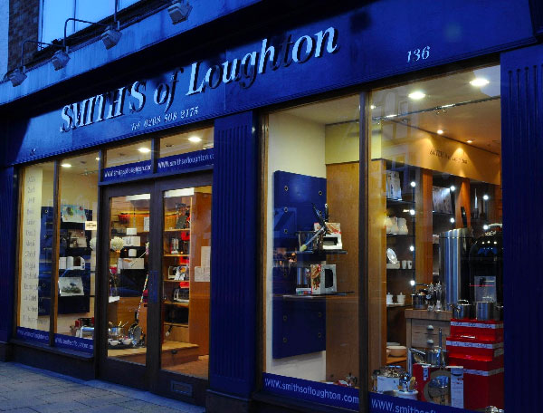 Exterior of Smiths of Loughton