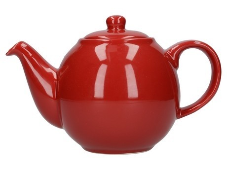 Buy London Pottery Company Globe 2 Cup Red Teapot online at smithsofloughton.com