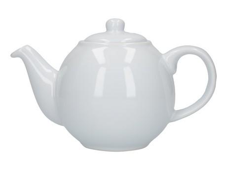 Buy London Pottery Company Globe 2 Cup White Teapot online at smithsofloughton.com