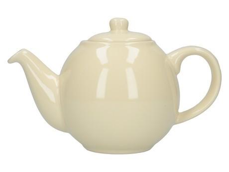 Buy London Pottery Company Globe 6 Cup Cream Teapot online at smithsofloughton.com