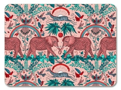 Buy the 29cm Jamida Emma J Shipley Zambezi Pink Placemat online at smithsofloughton.com