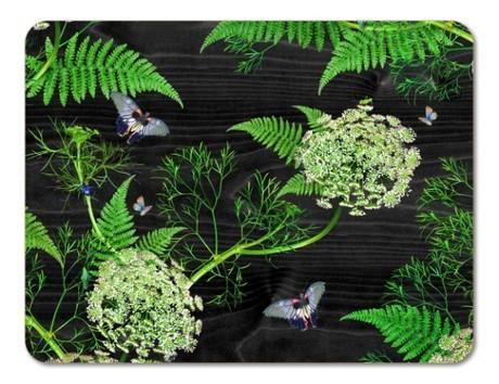 Buy the 29cm Jamida Michael Angove Black Dill Tablemat online at smithsofloughton.com