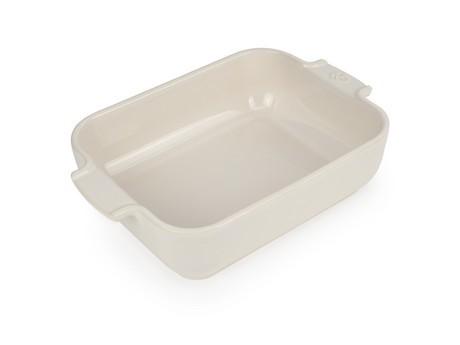 Buy the Appolia Rectangle Ceramic Baking Dish Ecru 25cm online at smithsofloughton.com
