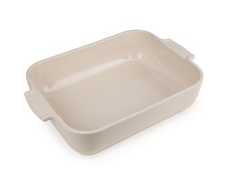 Buy the Appolia Rectangle Ceramic Baking Dish Ecru 32cm online at smithsofloughton.com