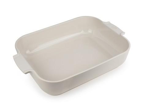 Buy the Appolia Rectangle Ceramic Baking Dish Ecru 40cm online at smithsofloughton.com