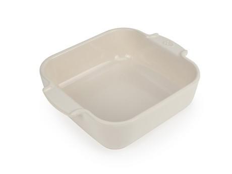 Buy the Appolia Square Ceramic Baking Dish Ecru 21cm online at smithsofloughton.com