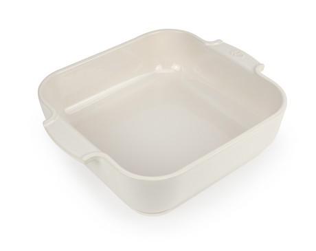 Buy the Appolia Square Ceramic Baking Dish Ecru 28cm online at smithsofloughton.com