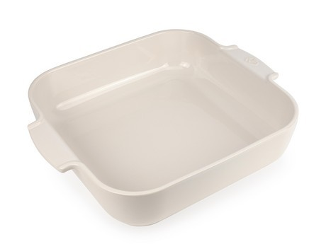 Buy the Appolia Square Ceramic Baking Dish Ecru 36cm online at smithsofloughton.com