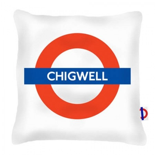 Buy the Chigwell Tube Station Cushions online at smithsofloughton.com