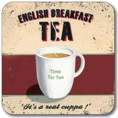 Buy the Customworks Breakfast Tea Drinks Coaster online at smithsofloughton.com
