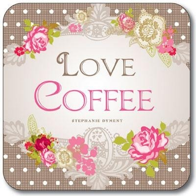 Buy the Customworks Love Coffee Drinks Coaster online at smithsofloughton.com