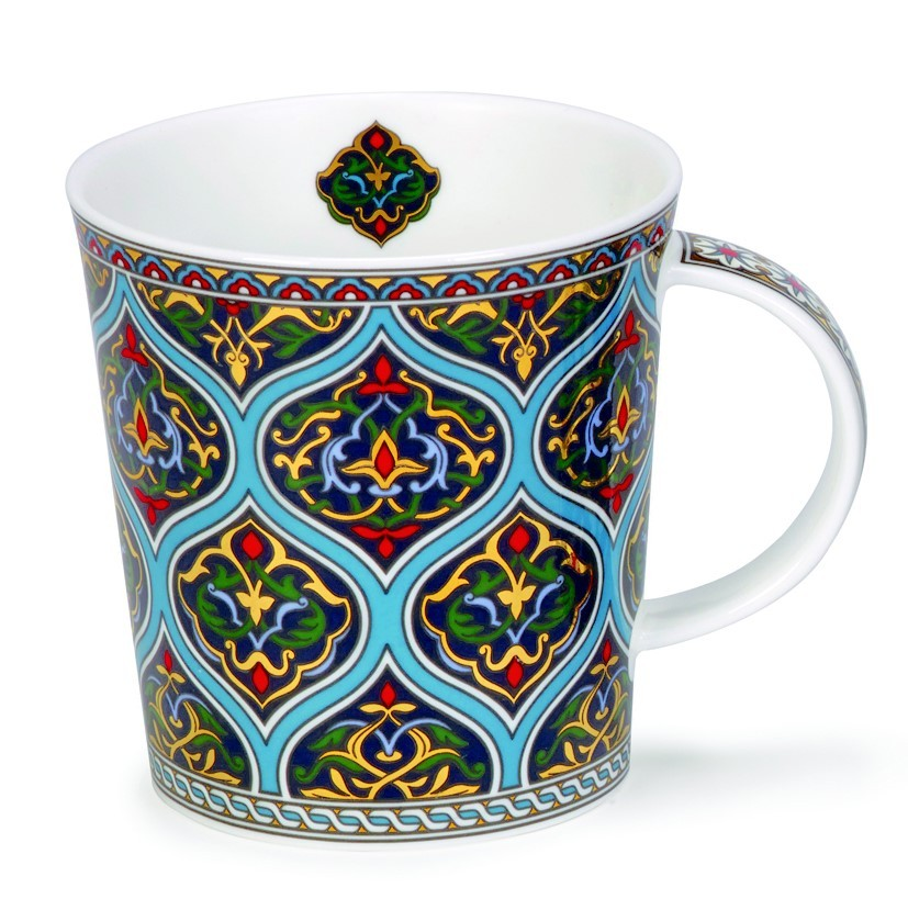 Buy the Dunoon Lomond Mug Dubai Blue online at smithsofloughton.com