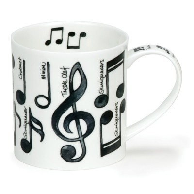 Buy the Dunoon Orkney Mug Music Note online at smithsofloughton.com