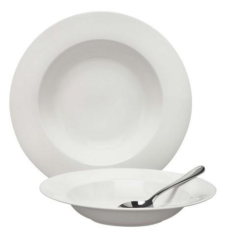 Buy the Elia Glacier Rimmed Pasta Bowl online at smithsofloughton.com