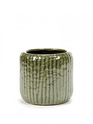 Buy the erax Swamp Green Rib Pot online at smithsofloughton.com