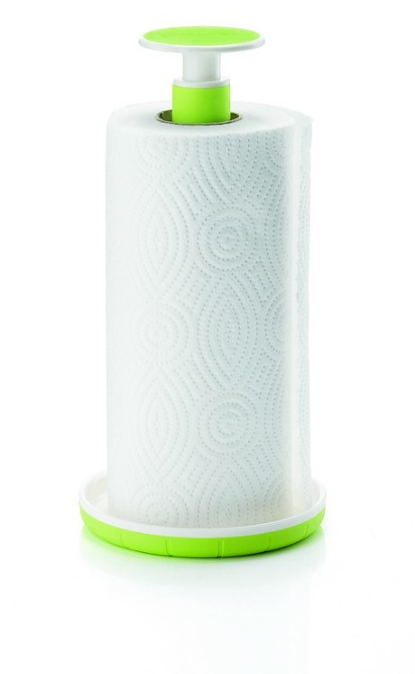 Buy the Guzzini Kitchen Roll Holder Green online at smithsofloughton.com