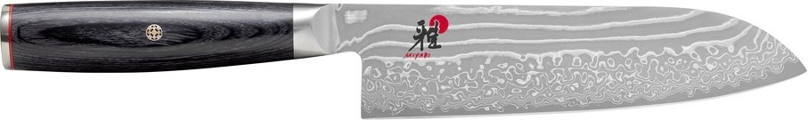 Buy the Henckels Miyabi 500 FCD Santoku Knife 18cm online at smithsofloughton.com