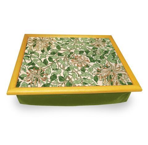 Buy the Honeysuckle Cushion Lap Tray online at smithsofloughton.com