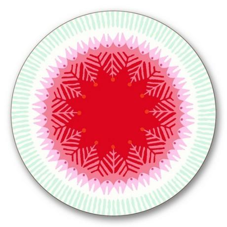 Buy the Jamida Asta Barrington Fiesta Red Coaster online at smithsofloughton.com
