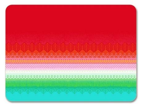 Buy the Jamida Asta Barrington Fiesta Red Tablemat online at smithsofloughton.com