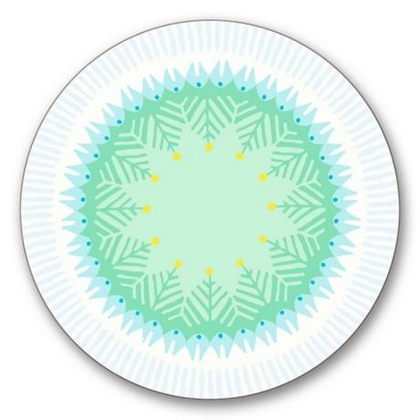 Buy the Jamida Asta Barrington Fiesta White Coaster online at smithsofloughton.com