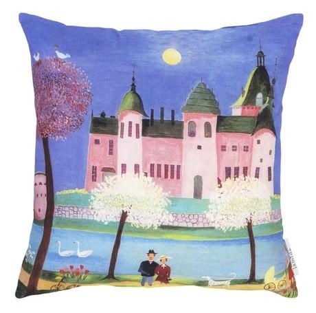 Buy the Jamida Bessie Johanson Castle Cushion 48x48cm online at smithsofloughton.com