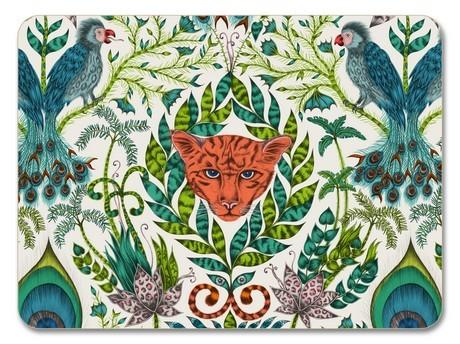 Buy the Jamida Emma J Shipley Amazon Green Placemat 29cm online at smithsofloughton.com