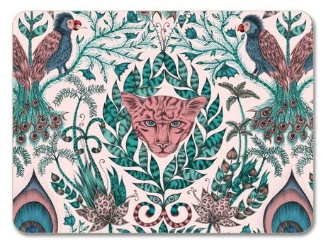 Buy the Jamida Emma J Shipley Amazon Pink Placemat 29cm online at smithsofloughton.com