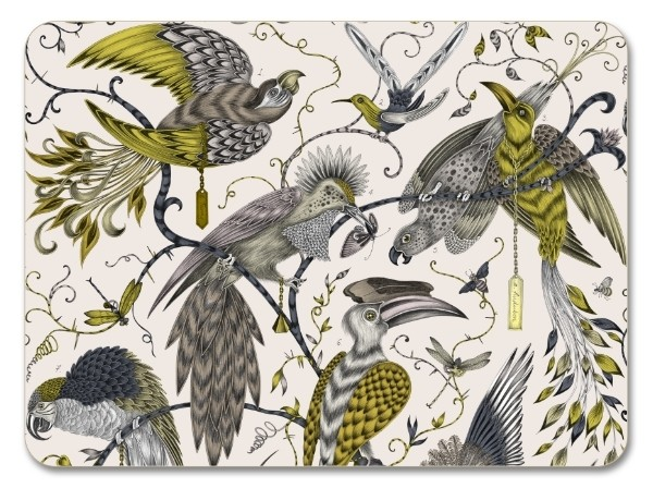 Buy the Jamida Emma J Shipley Audubon Gold Placemat 38cm online at smithsofloughton.com