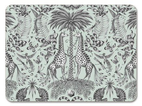 Buy the Jamida Emma J Shipley Kruger Green Placemat 29cm online at smithsofloughton.com