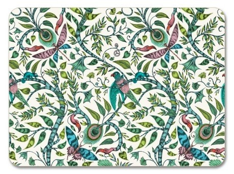 Buy the Jamida Emma J Shipley Rousseau Lime Placemat 38cm online at smithsofloughton.com