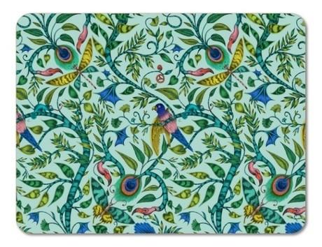 Buy the Jamida Emma J Shipley Rousseau Turquoise Placemat 38cm online at smithosloughton.com