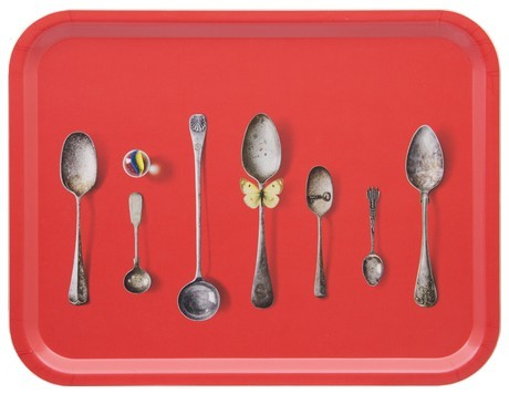 Buy the Jamida Michael Angove - Cutlery Tray Red - 43x33cm online at smithsofloughton.com