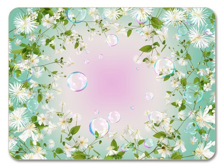 Buy the Jamida Michael Angove Flower Pop Placemat 29cm online at smithsofloughton.com