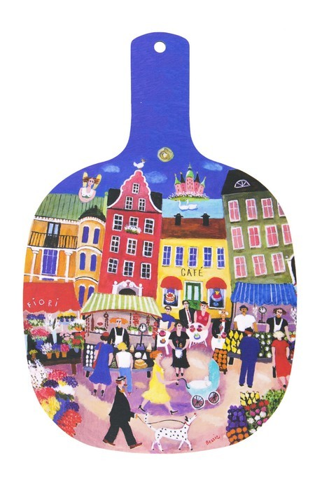 Buy the Jamida Stockholm in My Heart Chopping Board online at smithsofloughton.com