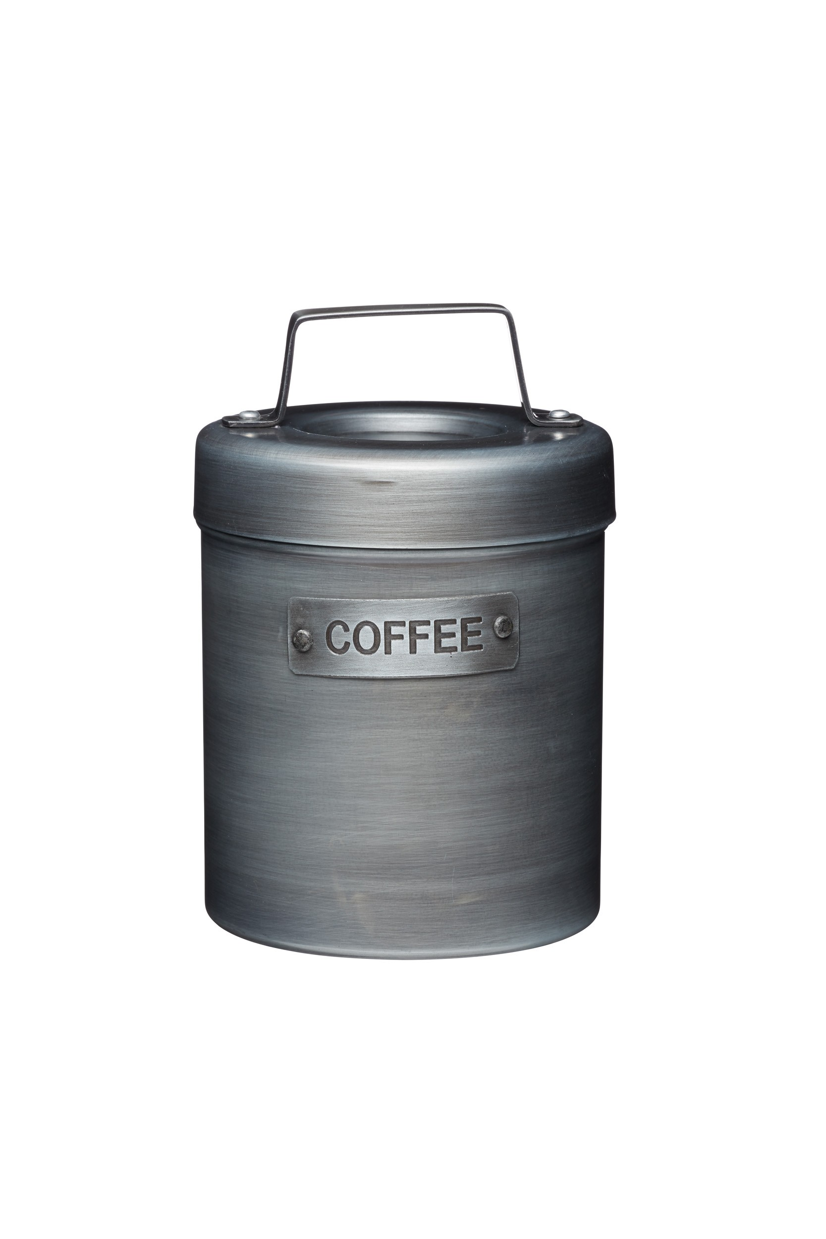 Buy the Kitchen Vintage-Style Metal Coffee Caddy online at smithsofloughton.com