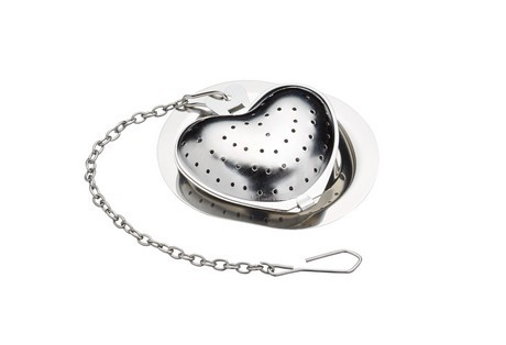 Buy the Le'Xpress Stainless Steel Novelty Heart Tea Infuser online at smithsofloughton.com