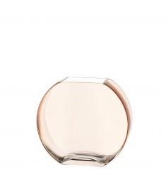 Buy the Leonardo Centro Disc Vase Cinamon 23cm online at smithsofloughton.com