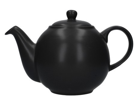 Buy the London Pottery 4 Cup Black GlobeTeapot online at smithsofloughton.com