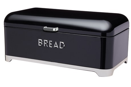 Buy the Lovello Bread Bin Black online at smithsofloughton.com