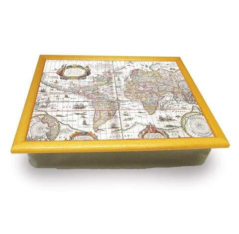Buy the Map of the World Cushion Lap Tray online at smithsofloughton.com