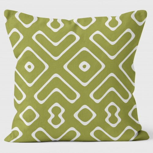 Buy the Mouths Green Cushions 40cm online at smithsofloughton.com