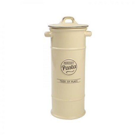 Buy the Pride Of Place Pasta Jar Old Cream online at smithsofloughon.com