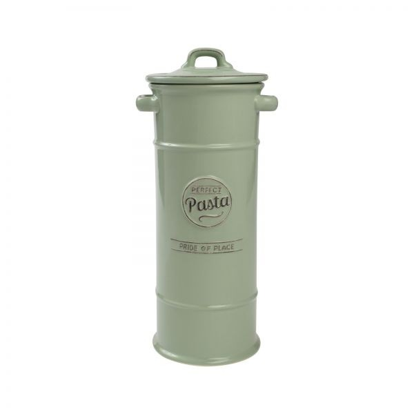Buy the Pride Of Place Pasta Jar Old Green online at smithsofloughon.com
