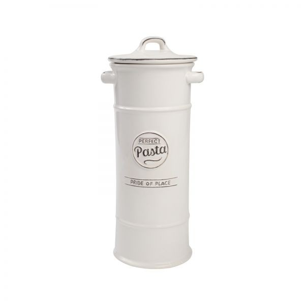 Buy the Pride Of Place Pasta Jar Old White online at smithsofloughon.com