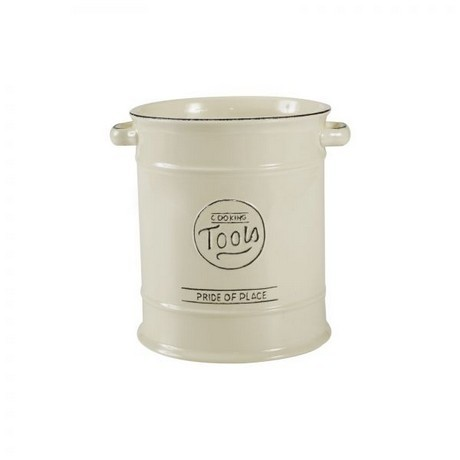 Buy the Pride Of Place Utensil Jar Old Cream online at smithsofloughon.com